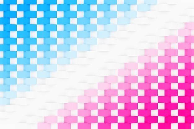 3d иллюстрации фона, текстуры большого количества геометрических фигур голубей разных размеров и форм.