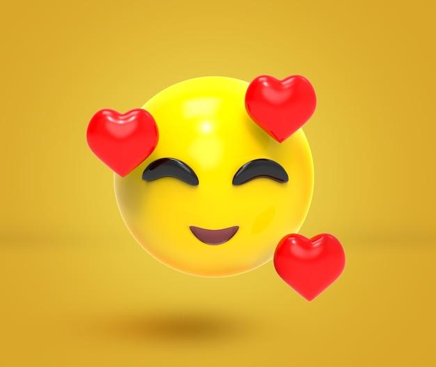 3d иллюстрации emoji иконки