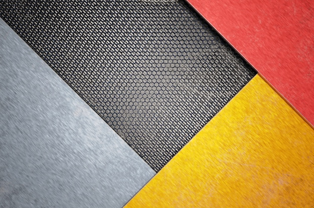 3d иллюстрации. сетка металлическая поверхность дизайна