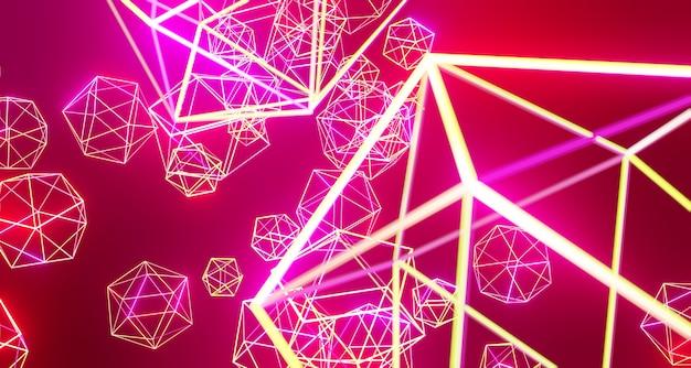 3d иллюстрации высокотехнологичные цифровые технологии и концепции цифровых телекоммуникационных технологий