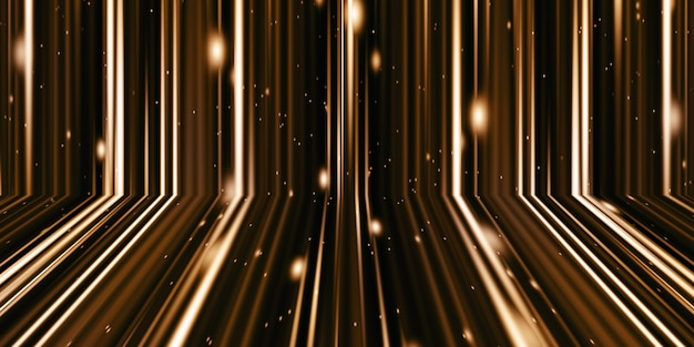 3dイラスト光と縞模様の動きは抽象的な輝きのスプラッシュカラフルな波スパイラルアート黒に真っ赤なリボン