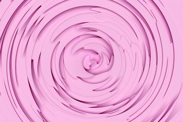3d иллюстрации гипнотического узора