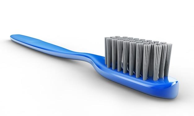 歯ブラシの3dイラスト