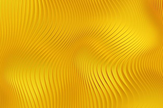 3d 그림 행 노란색
