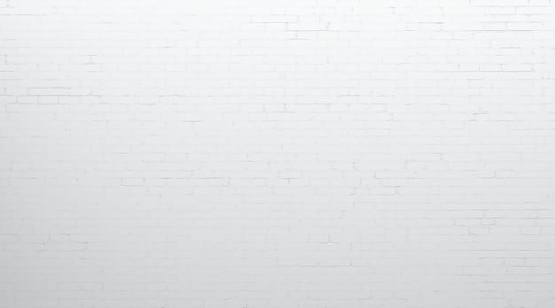 3d 그림입니다. 흰색 오래 된 배경 벽돌 벽입니다. 브랜드 또는 로고를 위해 벽을 조롱하십시오.