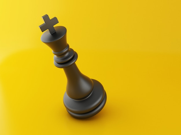 3d lost chess piece