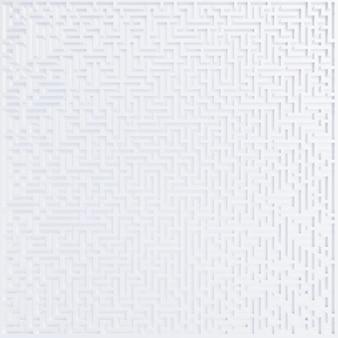 Верхний элемент дизайна 3d лабиринт