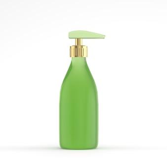 3d mock up cosmetic bottle