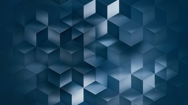 3d modern abstract background with geometric shapes.