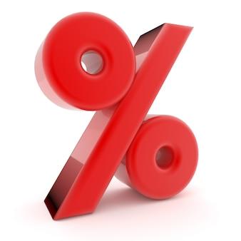 3d percent sign