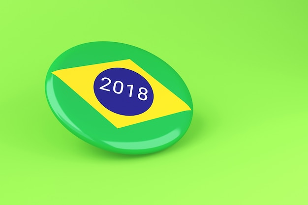 3d pin elections 2018. brazil voting.