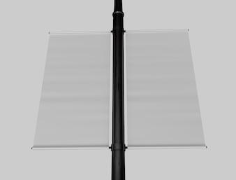 3D Pole Mockup