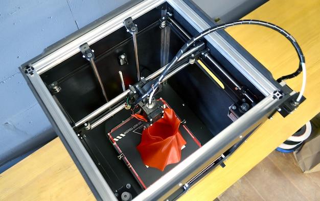 3d 프린터 작업 플라스틱에서 자동 3차원 3d 프린터 인쇄 개체
