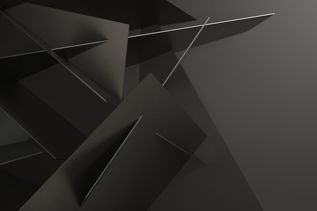 3d render abstract background