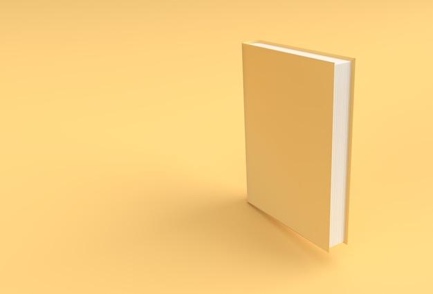 3d render книги стопка книг охватывает стиль макета закладки учебника.