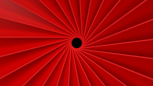 3d 세우다 순환 배경 벽지 소용돌이 치는 빨간 패턴