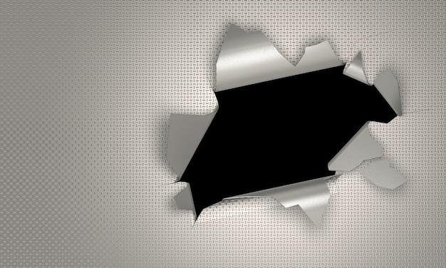 3d render crack background checker plate