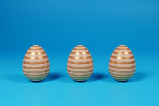 3d визуализация пасхальных яиц