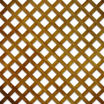 木製の格子背景のレンダリング3d
