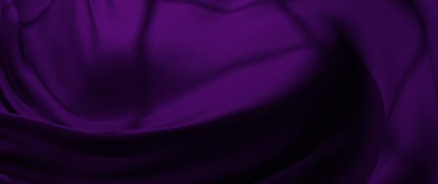 3d визуализация фиолетовой ткани. радужная голографическая фольга. абстрактное искусство моды фон.