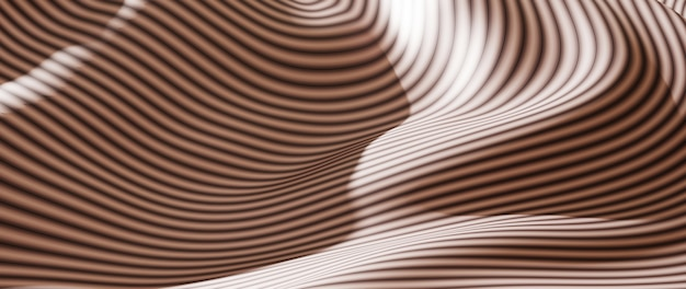 白と黒の布の3dレンダリング。虹色のホログラフィックホイル。抽象芸術のファッションの背景。
