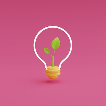 3d render question marks with light bulbs on pink background.question and answer business concept,faq sign.