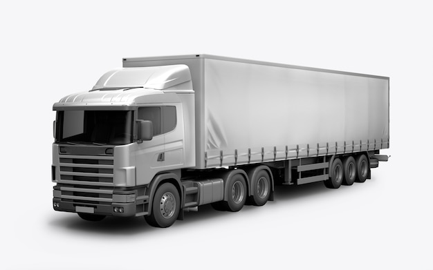 3d render of the truck