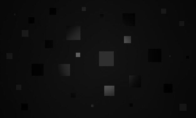 3d 렌더링 된 추상 검은 기하학적 배경.