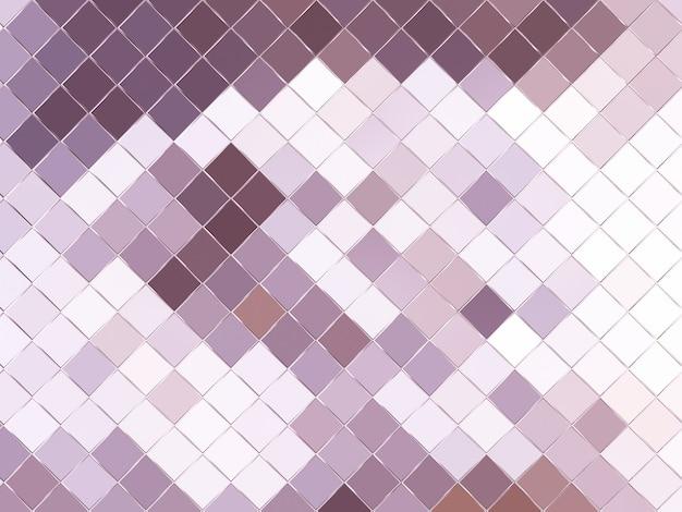 3dレンダリングされた抽象的な紫とピンクのグリッド