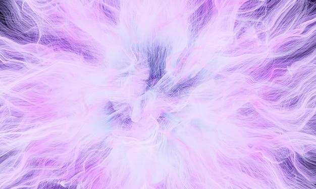 3d 렌더링 추상 보라색 폭발 광선