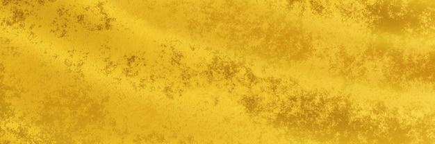 3d-рендеринг. абстрактный волнистый золотой фон