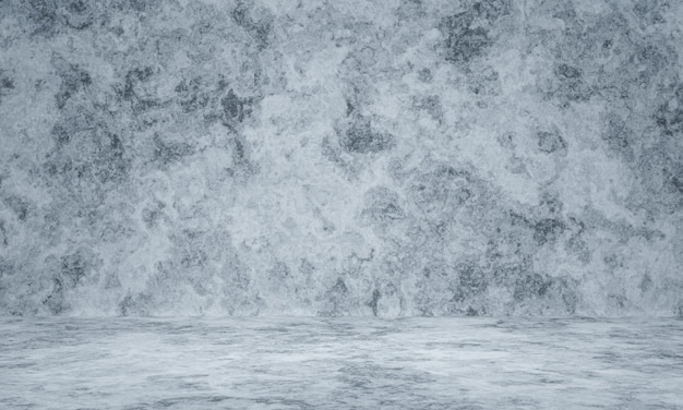 3d визуализация черно-белый фон выветривания цементной стены