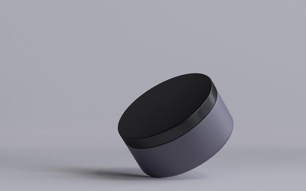 3d rendered cosmetic jar