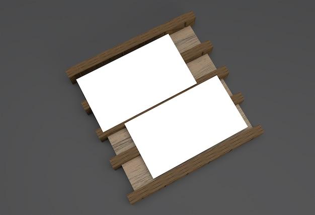 3d 렌더링된 스택 명함 이랑 디자인입니다.