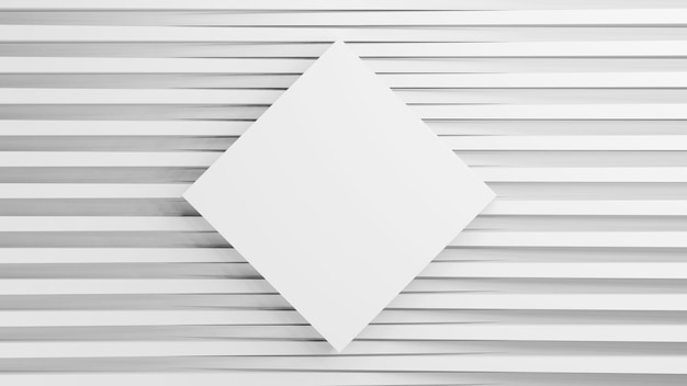 さまざまな高さで正方形の3dレンダリングされたテクスチャ