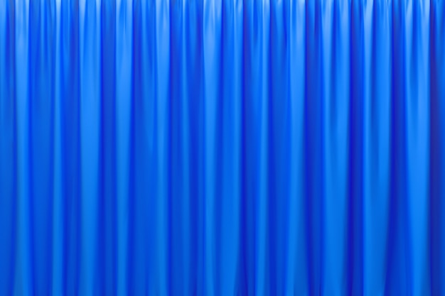 3d rendering, abstract blue background luxury cloth or liquid wave or wavy folds of grunge silk texture satin velvet material or luxury background or elegant wallpaper design,blue background