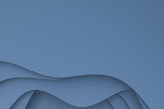 3d-рендеринг, абстрактная серая бумага вырезать искусство фона дизайн для шаблона плаката, серый фон, узор абстрактный фон