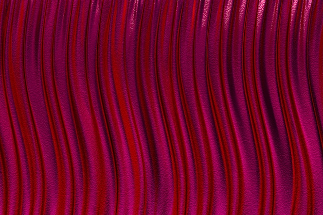 3D Rendering, Abstract red background luxury cloth