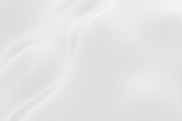 3 dレンダリングの抽象的な白と灰色の曲線の背景