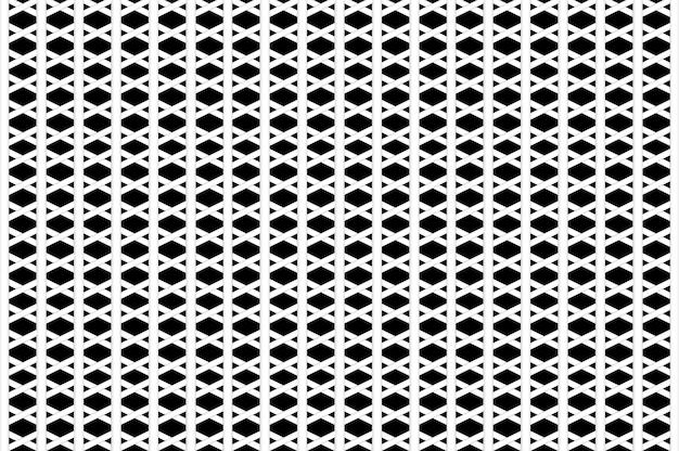 3dレンダリング。黒の背景に抽象的な白いメッシュデザイン。