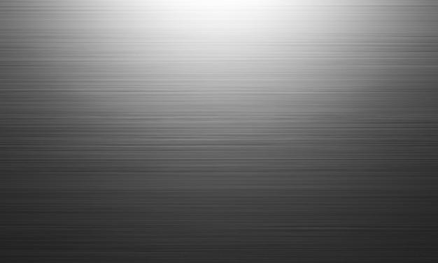 3d 렌더링. 검은 금속 질감. 어두운 배경