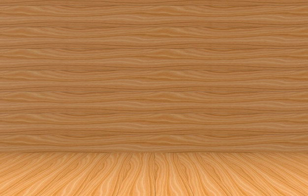 3d rendering. brown wood panels wall and floor background for any design texture.