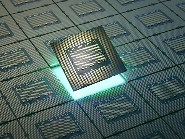 3d rendering chipset for semiconductor manufacturing