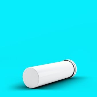 Toscha에 고립 된 3d 렌더링 발포 성 병