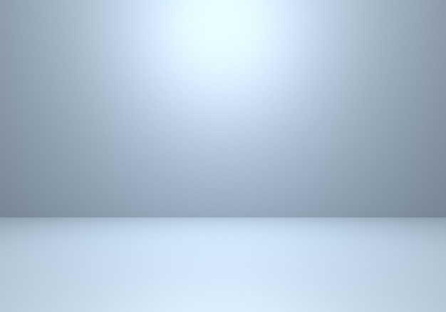 3d rendering of empty grey and silver abstract minimal concept