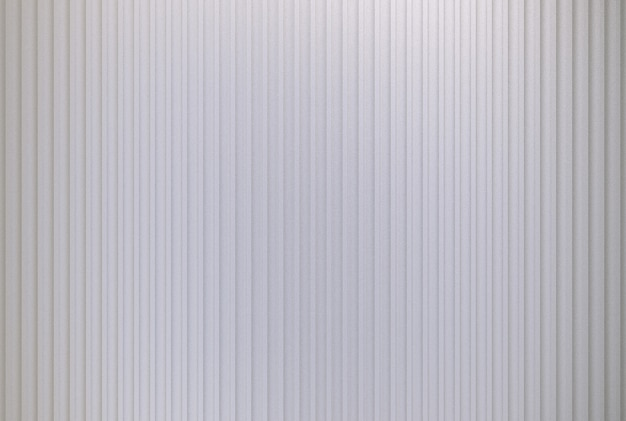 3d rendering. empty modern silver vertical panel line or container wall design texture .