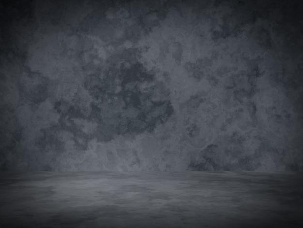 3d 렌더링. 회색 시멘트 벽 배경