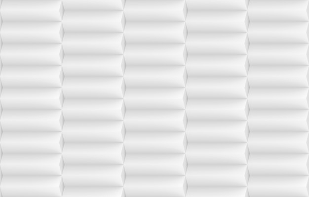 3d rendering. horizontal modern minimal design whtie long cube stack row wall texture background.