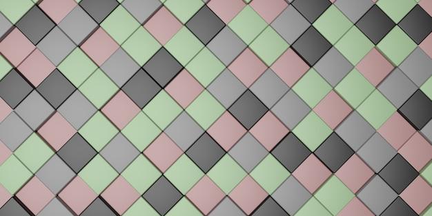 3d rendering illustration full frame pattern as background