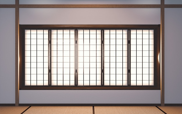 3d rendering of japan room design
